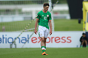 Troy Parrot of Republic of Ireland (10) during the UEFA European Under 17 Championship 2018 match between Bosnia and Republic of Ireland at Stadion Bilino Polje, Zenica, Bosnia and Herzegovina on 11 May 2018. Picture by Mick Haynes.