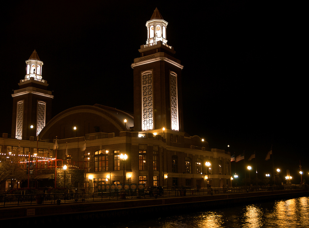 View of Chicago's Navy Pier