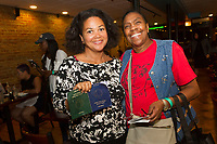 The Hyde Park Chamber of Commerce held a dinner crawl Tuesday, October 3rd, 2017 along both 53rd street and 57th street.<br /> <br /> 0394 &ndash; Executive Director for the South East Chicago Commission, Wendy Walker Williams and Lenora Austin enjoy food at the Sit Down located at 1312 E. 53rd street.<br /> <br /> Please 'Like' &quot;Spencer Bibbs Photography&quot; on Facebook.<br /> <br /> Please leave a review for Spencer Bibbs Photography on Yelp.<br /> <br /> All rights to this photo are owned by Spencer Bibbs of Spencer Bibbs Photography and may only be used in any way shape or form, whole or in part with written permission by the owner of the photo, Spencer Bibbs.<br /> <br /> For all of your photography needs, please contact Spencer Bibbs at 773-895-4744. I can also be reached in the following ways:<br /> <br /> Website &ndash; www.spbdigitalconcepts.photoshelter.com<br /> <br /> Text - Text &ldquo;Spencer Bibbs&rdquo; to 72727<br /> <br /> Email &ndash; spencerbibbsphotography@yahoo.com