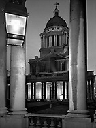 Royal Naval College Chapel<br /> <br /> January 2002
