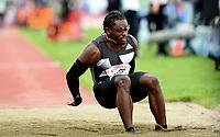 Friidrett , 9. juni 2016 , Diamond League , Bislett Games<br /> Athletics , <br /> Omar Craddock , USA  , triple jump
