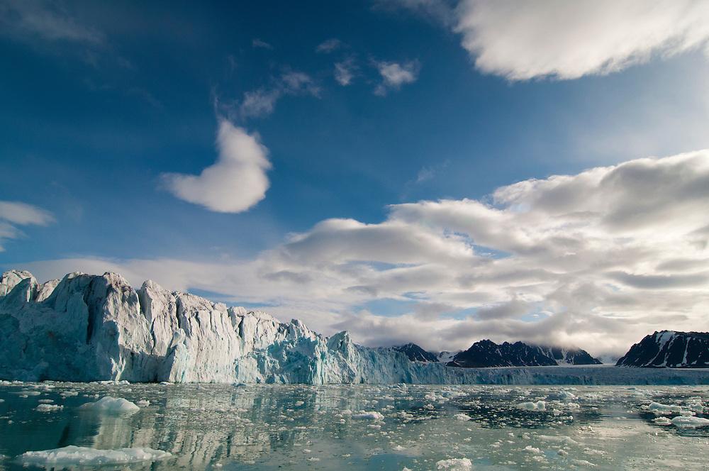 Lilliehookbreen glacier