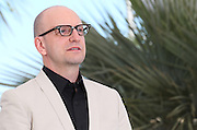 "Steven Soderbergh  attends ""Behind The Candelabra"" photo call  during the 66th Annual Cannes Film Festival at the Palais des Festivals on May 21, 2013 in Cannes, France.."