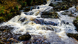Waterfall on a small stream flowing into the River Etive, Highlands of Scotland<br /> <br /> (c) Andrew Wilson | Edinburgh Elite media