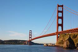 """Golden Gate Bridge 5"" - Photograph of San Francisco's famous Golden Gate Bridge shot in the early morning."