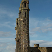 The east gable of St.Andrews Cathedral, St. Andrews, Scotland