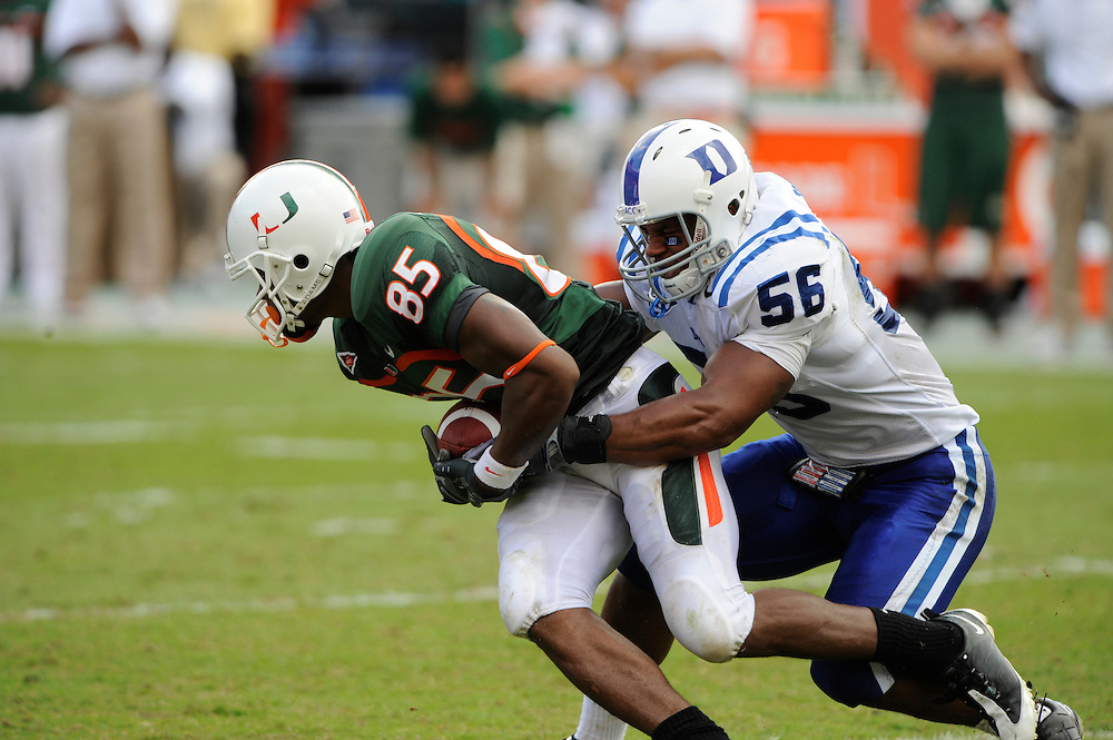 2009 Miami Hurricanes Football vs Duke