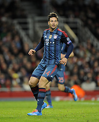 Bayern Munich's Claudio Pizarro - Photo mandatory by-line: Joe Meredith/JMP - Tel: Mobile: 07966 386802 19/02/2014 - SPORT - FOOTBALL - London - Emirates Stadium - Arsenal v Bayern Munich - Champions League - Last 16 - First Leg