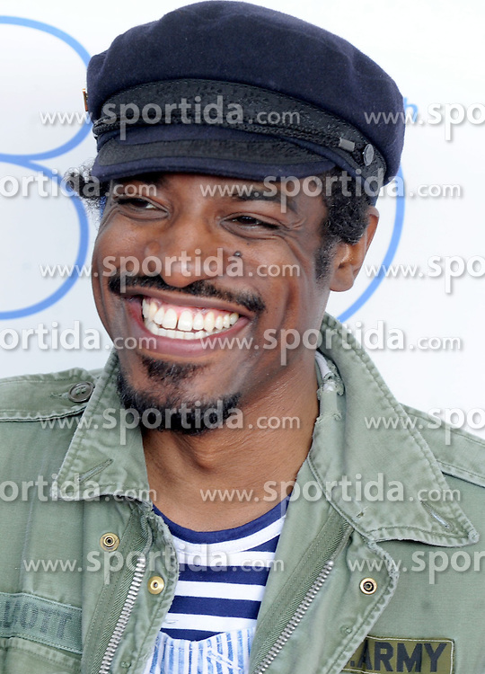 Andre 3000 at the 30th Film Independent Spirit Awards 2015 - Arrivals 1, Santa Monica Beach, Santa Monica, CA February 21, 2015. EXPA Pictures &copy; 2015, PhotoCredit: EXPA/ Photoshot/ Dennis Van Tine<br /> <br /> *****ATTENTION - for AUT, SLO, CRO, SRB, BIH, MAZ only*****