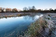 Winter on the River Test, Longparish, Hampshire.