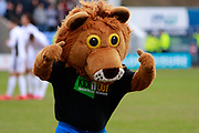 Lennie lion promoting 'kick it out' campaign during the EFL Sky Bet League 1 match between Shrewsbury Town and Walsall at Greenhous Meadow, Shrewsbury, England on 10 March 2018. Picture by Graham Holt.