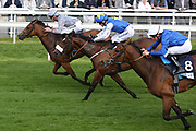 MAIN DESIRE ridden by jockey Daniel Tudhope and trained by Michael Bell winning The Listed British Stallion Studs EBF Westow Stakes over 5f (£50,000) at at the York Dante Meeting at York Racecourse, York, United Kingdom on 17 May 2018. Picture by Mick Atkins.