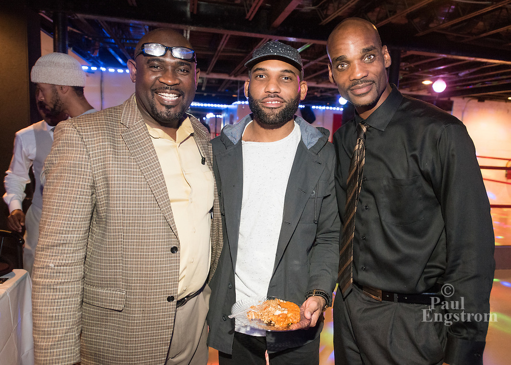 Osborn Neighborhood Association holds party at Detroit Blues Cafe on Gratiot Avenue.