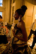SOKHNA NDOUR, The 2008 Crillon Debutante Ball. Getting Ready the Day before. Crillon Hotel. Paris. 29 November 2008. *** Local Caption *** -DO NOT ARCHIVE-© Copyright Photograph by Dafydd Jones. 248 Clapham Rd. London SW9 0PZ. Tel 0207 820 0771. www.dafjones.com.