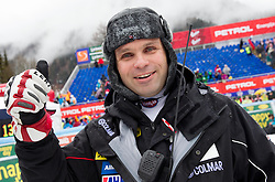 Vedran Pavlek of Croatia after the 10th Men's Slalom - Pokal Vitranc 2013 of FIS Alpine Ski World Cup 2012/2013, on March 10, 2013 in Vitranc, Kranjska Gora, Slovenia. (Photo By Vid Ponikvar / Sportida.com)