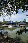 The Seema Malaka - 1976<br /> Beira Lake, Colombo, Sri Lanka