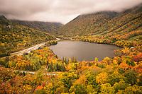 Artist Bluff, Franconia Notch State Park, New Hampshire