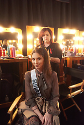 Laura Longauerová, Miss Slovak Republic 2019 gets hair done by a stylist from Farouk Systems, the Makers of CHI & Biosilk backstage during The MISS UNIVERSE® Competition airing on FOX at 7:00 PM ET on Sunday, December 8, 2019 live from Tyler Perry Studios in Atlanta. Contestants from around the globe have spent the last few weeks touring, filming, rehearsing and preparing to compete for the Miss Universe crown. HO/The Miss Universe Organization