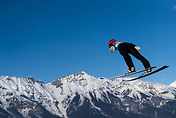 February 24, 2019 - Innsbruck, AUSTRIA - 190224 Stephan Leyhe of Germany competes in ski jumping team large hill during the FIS Nordic World Ski Championships on February 24, 2019 in Innsbruck..Photo: Joel Marklund / BILDBYRÃ…N / kod JM / 87890 (Credit Image: © Joel Marklund/Bildbyran via ZUMA Press)