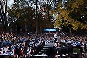 President Barack Obama visited Ohio University in Athens, Ohio on Wednesday, October 17, 2012.