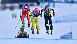 19.01.2019, Idre Fjall, Idre, SWE, FIS Weltcup Ski Cross, im Bild Heïdï Zachel before Marielle Thompson and Fanny Smith // during the FIS Ski Cross World Cup at the Idre Fjall in Idre, Sweden on 2019/01/19. EXPA Pictures © 2019, PhotoCredit: EXPA/ Nisse Schmidt<br /> <br /> *****ATTENTION - OUT of SWE*****