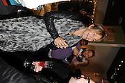 SAFFRON ALDRIDGE WEARING HER ENGAGEMENT RING, Jonathan Adler Store opening. Sloane St. London. 16 November 2011. <br /> <br />  , -DO NOT ARCHIVE-© Copyright Photograph by Dafydd Jones. 248 Clapham Rd. London SW9 0PZ. Tel 0207 820 0771. www.dafjones.com.
