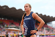 Agathe Guillemot (FRA) competes in Heptathlon during the IAAF World U20 Championships 2018 at Tampere in Finland, Day 3, on July 12, 2018 - Photo Julien Crosnier / KMSP / ProSportsImages / DPPI