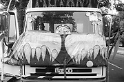 Decorated Truck, 2nd Criminal Justice March, Victoria, London, UK, 23rd of July 1994.