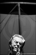 Berlin, DEU, 30.10.2002: Jazz Music , Jan Garbarek, saxophone, Jazz, Musik, Music, Musiker, musician, Tempodrom, Berlin, 30.10.2002 ( Keywords: Musiker ; Musician ; Musik ; Music ; Jazz ; Jazz ; Kultur ; Culture ) ,  [ Photo-copyright: Detlev Schilke, Postfach 350802, 10217 Berlin, Germany, Mobile: +49 170 3110119, photo@detschilke.de, www.detschilke.de - Jegliche Nutzung nur gegen Honorar nach MFM, Urhebernachweis nach Par. 13 UrhG und Belegexemplare. Only editorial use, advertising after agreement! Eventuell notwendige Einholung von Rechten Dritter wird nicht zugesichert, falls nicht anders vermerkt. No Model Release! No Property Release! AGB/TERMS: http://www.detschilke.de/terms.html ]