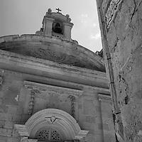 Triq San Pietru, St Peter Street,<br /> Mdina, Malta, Europe.<br /> Summer 2016.