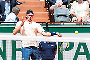 Maximilian Marterer (ger) during the Roland Garros French Tennis Open 2018, day 9, on June 4, 2018, at the Roland Garros Stadium in Paris, France - Photo Pierre Charlier / ProSportsImages / DPPI