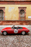 GP TAZIO NUVOLARI 2012. FERRARA, BRITISH LEYLAND MC  MG MGB MARK II 1969