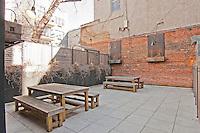 Courtyard at 390 Lorimer Street