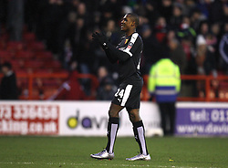 Odion Ighalo of Watford applauds the fans at the final whistle - Mandatory byline: Jack Phillips/JMP - 30/01/2016 - FOOTBALL - The City Ground - Nottingham, England - Nottingham Forest v Watford - The Emirates FA Cup