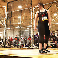 Noémie Jeffrey, Laval, 2019 U SPORTS Track and Field Championships on Thu Mar 07 at James Daly Fieldhouse. Credit: Arthur Ward/Arthur Images