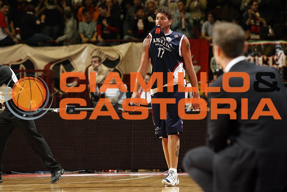 DESCRIZIONE : Milano Lega A1 2006-07 Armani Jeans Milano Angelico Biella<br /> GIOCATORE : Cotani<br /> SQUADRA : Angelico Biella<br /> EVENTO : Campionato Lega A1 2006-2007 <br /> GARA : Armani Jeans Milano Angelico Biella <br /> DATA : 04/11/2006 <br /> CATEGORIA : Delusione<br /> SPORT : Pallacanestro <br /> AUTORE : Agenzia Ciamillo-Castoria/G.Cottini