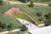 Bush Library, SMU Campus, Grounds designed by Michael Van Valkenburgh Associates