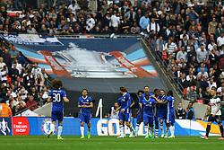 Goal, Willian of Chelsea scores from the penalty spot, Chelsea 2-1 Tottenham Hotspur - Mandatory by-line: Jason Brown/JMP - 22/04/2017 - FOOTBALL - Wembley Stadium - London, England - Chelsea v Tottenham Hotspur - Emirates FA Cup Semi-Final