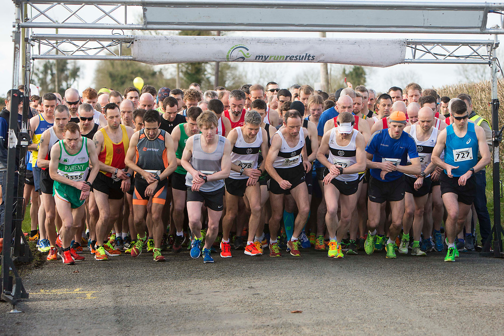 12/03/2017, Bohermeen AC 10k road Race & Half Marathon<br /> Athletes set off at the start of the Bohermeen AC Half Marathon<br /> David Mullen / www.cyberimages.net<br /> ISO: 640; Shutter: 1/1000; Aperture: 4; <br /> File Size: 3.3MB<br /> Actuations: