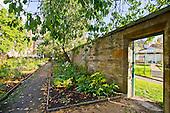 Gartnavel - the walled garden