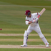 Marcus Trescothick  (Somerset County Cricket Club) in action  during the LV County Championship Div 1 match between Durham County Cricket Club and Somerset County Cricket Club at the Emirates Durham ICG Ground, Chester-le-Street, United Kingdom on 9 June 2015. Photo by George Ledger.