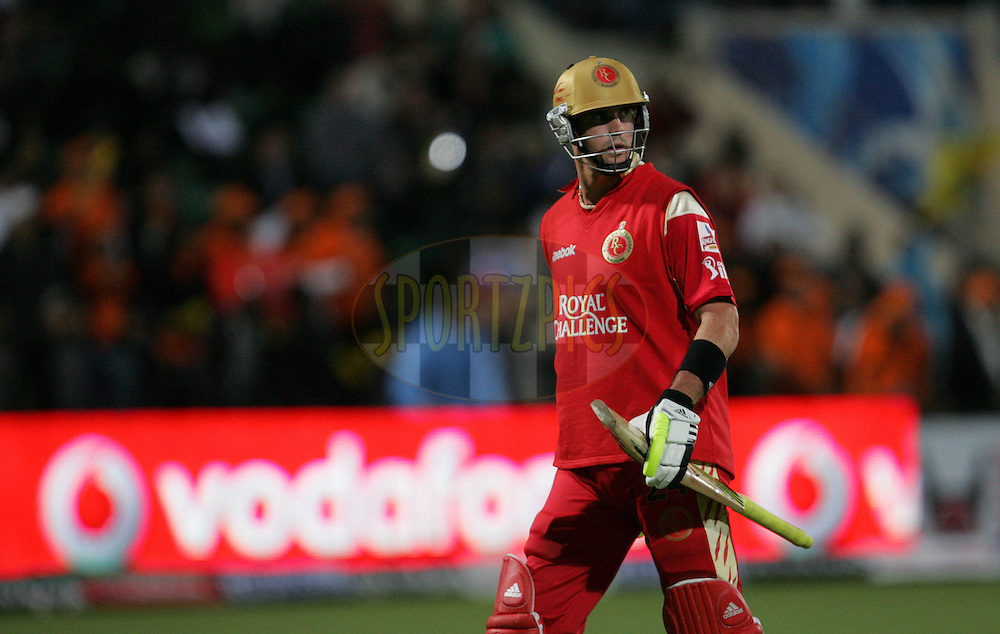 PORT ELIZABETH, SOUTH AFRICA - 20 April 2009. Kevin Pietersen during the  IPL Season 2 match between the Chennai Superkings and the  Royal Challengers Bangalore held at St Georges Park in Port Elizabeth , South Africa..
