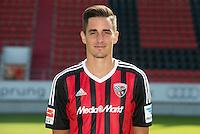 German Soccer Bundesliga 2015/16 - Photocall of FC Ingolstadt 04 on 09 July 2015 in Ingolstadt, Germany: Benjamin Huebner