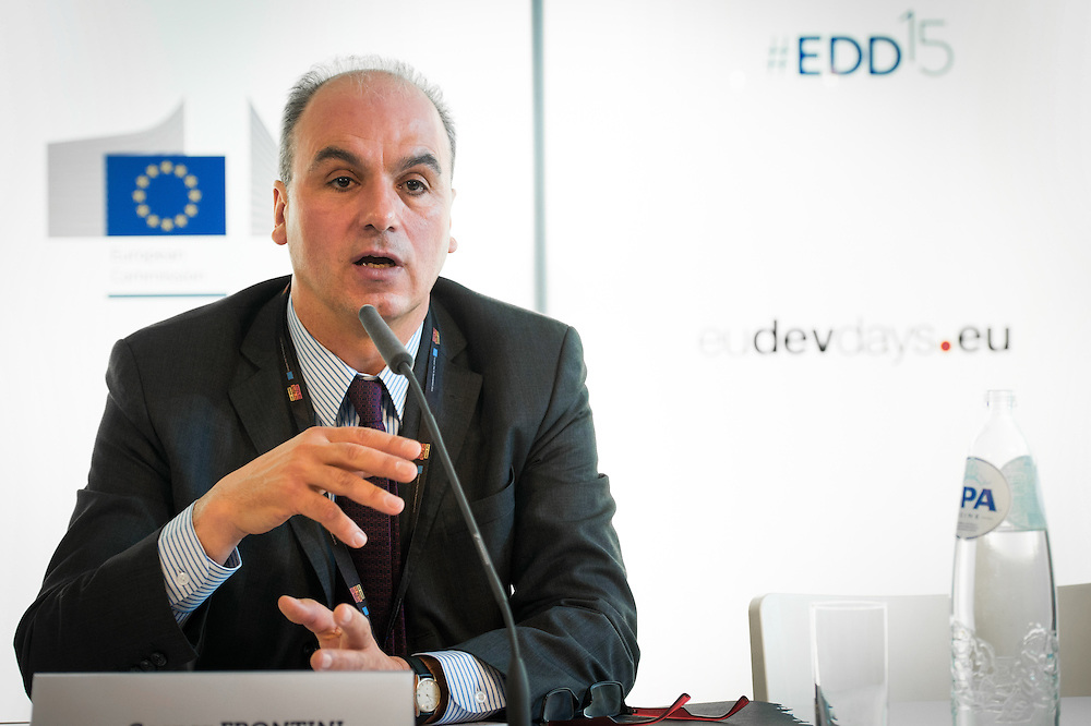 03 June 2015 - Belgium - Brussels - European Development Days - EDD - Growth - Ideas to impact-Innovation prizes for development - Gaspar Frontini , <br /> Head of unit at European Commission &copy; European Union