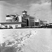 Dublin Airport Under Snow<br /> 1956