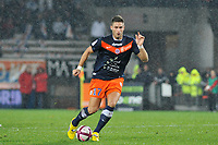 FOOTBALL - FRENCH CHAMPIONSHIP 2011/2012 - L1 - MONTPELLIER HSC v OLYMPIQUE MARSEILLE  - 19/11/2011 - PHOTO SYLVAIN THOMAS / DPPI - OLIVIER GIROUD (MON)