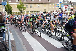 Rachele Barbieri in the bunch at Boels Rental Ladies Tour Stage 4 a 121.4 km road race from Gennep to Weert, Netherlands on September 1, 2017. (Photo by Sean Robinson/Velofocus)
