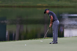 August 12, 2017 - Charlotte, North Carolina, United States - Rickie Fowler putts the 17th green during the third round of the 99th PGA Championship at Quail Hollow Club. (Credit Image: © Debby Wong via ZUMA Wire)