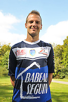 Stephane Darbion - 03.09.2014 - Photo Officielle Troyes - <br /> Photo : Philippe Le Brech / Icon Sport