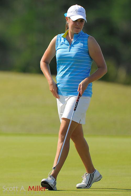 Laura Nochta during the second round of the LPGA Futures Tour's Daytona Beach Invitational at LPGA International's Championship Course on April 2, 2011 in Daytona Beach, Florida... ©2011 Scott A. Miller